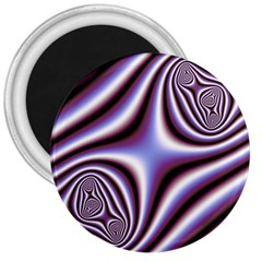 Fractal Background With Curves Created From Checkboard 3  Magnets by Simbadda