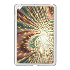 Vortex Glow Abstract Background Apple Ipad Mini Case (white) by Simbadda
