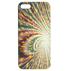 Vortex Glow Abstract Background Apple Iphone 5 Hardshell Case With Stand by Simbadda