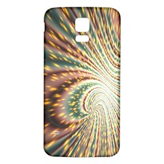 Vortex Glow Abstract Background Samsung Galaxy S5 Back Case (white) by Simbadda