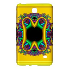 Fractal Rings In 3d Glass Frame Samsung Galaxy Tab 4 (8 ) Hardshell Case  by Simbadda