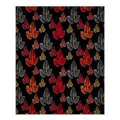 Leaves Pattern Background Shower Curtain 60  X 72  (medium)  by Simbadda