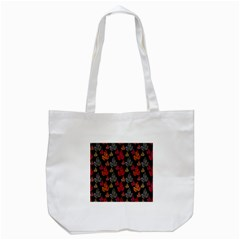Leaves Pattern Background Tote Bag (white) by Simbadda