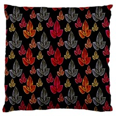 Leaves Pattern Background Standard Flano Cushion Case (two Sides) by Simbadda