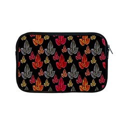 Leaves Pattern Background Apple Macbook Pro 13  Zipper Case by Simbadda