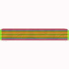 Fiestal Stripe Bright Colorful Neon Stripes Background Small Bar Mats by Simbadda