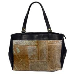 Texture Of Ceramic Tile Office Handbags by Simbadda
