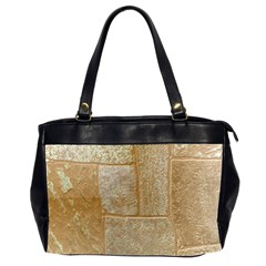 Texture Of Ceramic Tile Office Handbags (2 Sides)  by Simbadda