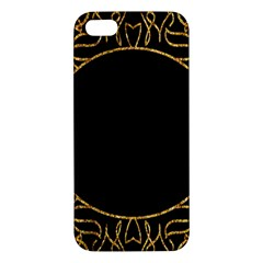 Abstract  Frame Pattern Card Iphone 5s/ Se Premium Hardshell Case by Simbadda