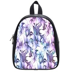 Floral Pattern Background School Bags (small)  by Simbadda