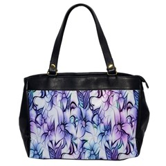 Floral Pattern Background Office Handbags by Simbadda