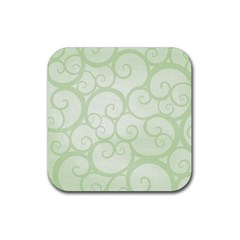 Pattern Rubber Square Coaster (4 Pack)  by Valentinaart