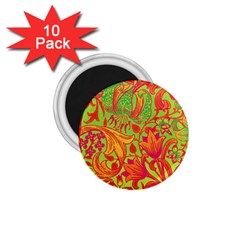 Floral Pattern 1 75  Magnets (10 Pack)  by Valentinaart