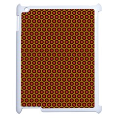 Lunares Pattern Circle Abstract Pattern Background Apple Ipad 2 Case (white) by Simbadda