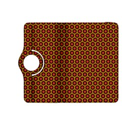 Lunares Pattern Circle Abstract Pattern Background Kindle Fire Hdx 8 9  Flip 360 Case by Simbadda