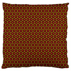 Lunares Pattern Circle Abstract Pattern Background Standard Flano Cushion Case (two Sides) by Simbadda