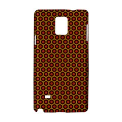 Lunares Pattern Circle Abstract Pattern Background Samsung Galaxy Note 4 Hardshell Case by Simbadda