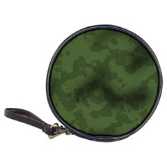 Vintage Camouflage Military Swatch Old Army Background Classic 20 Cd Wallets by Simbadda