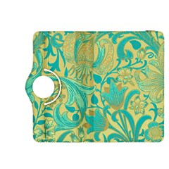 Floral Pattern Kindle Fire Hdx 8 9  Flip 360 Case by Valentinaart