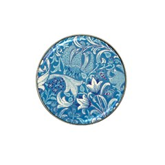Floral Pattern Hat Clip Ball Marker (10 Pack) by Valentinaart