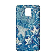 Floral Pattern Samsung Galaxy S5 Hardshell Case  by Valentinaart