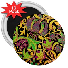 Floral Pattern 3  Magnets (10 Pack)  by Valentinaart