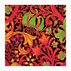 Floral Pattern Medium Glasses Cloth (2 Side) by Valentinaart