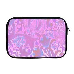 Floral Pattern Apple Macbook Pro 17  Zipper Case by Valentinaart