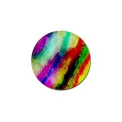 Colorful Abstract Paint Splats Background Golf Ball Marker (10 Pack) by Simbadda