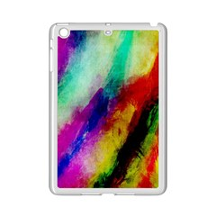 Colorful Abstract Paint Splats Background Ipad Mini 2 Enamel Coated Cases by Simbadda