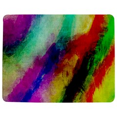Colorful Abstract Paint Splats Background Jigsaw Puzzle Photo Stand (rectangular) by Simbadda