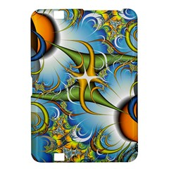 Random Fractal Background Image Kindle Fire Hd 8 9  by Simbadda