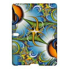 Random Fractal Background Image Samsung Galaxy Tab S (10 5 ) Hardshell Case  by Simbadda