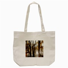 Fall Forest Artistic Background Tote Bag (cream) by Simbadda