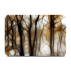 Fall Forest Artistic Background Plate Mats by Simbadda
