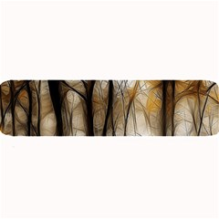 Fall Forest Artistic Background Large Bar Mats by Simbadda