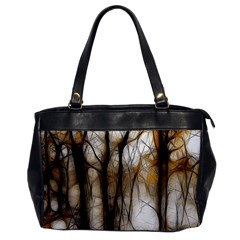Fall Forest Artistic Background Office Handbags by Simbadda