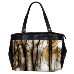 Fall Forest Artistic Background Office Handbags (2 Sides)  by Simbadda