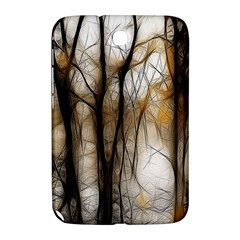 Fall Forest Artistic Background Samsung Galaxy Note 8 0 N5100 Hardshell Case  by Simbadda