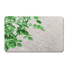 Plants Over Wall Magnet (rectangular) by dflcprints