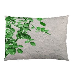 Plants Over Wall Pillow Case (two Sides) by dflcprints