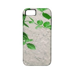 Plants Over Wall Apple Iphone 5 Classic Hardshell Case (pc+silicone) by dflcprints