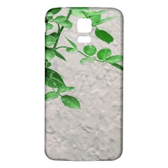 Plants Over Wall Samsung Galaxy S5 Back Case (white) by dflcprints