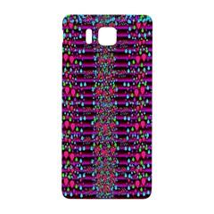 Raining Rain And Mermaid Shells Pop Art Samsung Galaxy Alpha Hardshell Back Case by pepitasart