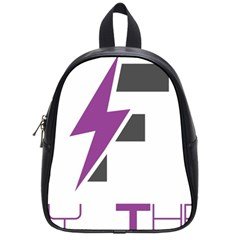Original Logos 2017 Feb 5529 58abaecc49c40 (1) School Bags (small)  by FlashyThread