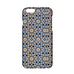 Gray Arabesque Pattern In Editable iPhone 6 Hardshell Phone Cases by CoolDesigns