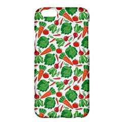 Green Vegetable Pattern Iphone 6 Plus Hardshell Phone Cases by CoolDesigns