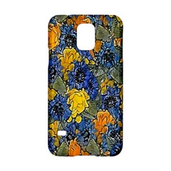 Floral Pattern Background Samsung Galaxy S5 Hardshell Case  by Simbadda