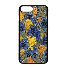 Floral Pattern Background Apple Iphone 7 Plus Seamless Case (black) by Simbadda