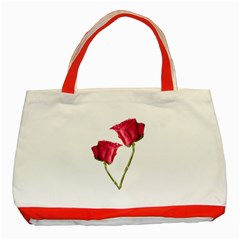 Red Roses Photo Classic Tote Bag (red) by dflcprints